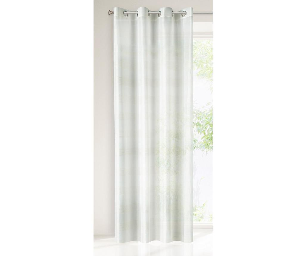 Perdea Nel White Green 140x250 cm