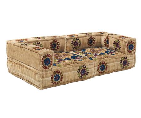 Set 2 jastuka za sjedenje Yantra Sand