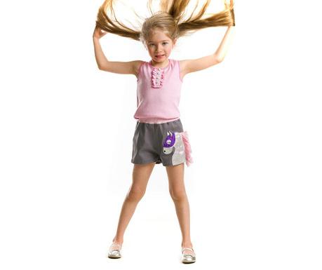Set maiou si pantaloni scurti pentru copii Carousel