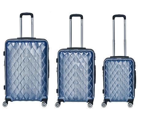 46c5c82d25 Σετ 3 βαλίτσες καμπίνας trolley Atlantic Blue - Vivre.gr