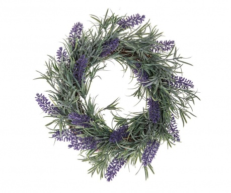 Buchet flori artificiale Lavander Wreath