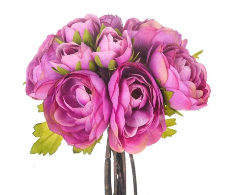 Kytice z umělých květin Ranunculus Mauve