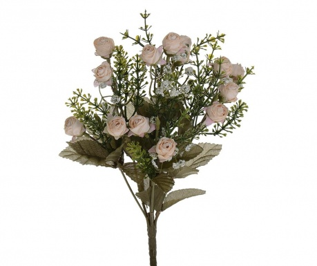 Buchet flori artificiale Little Roses Beige