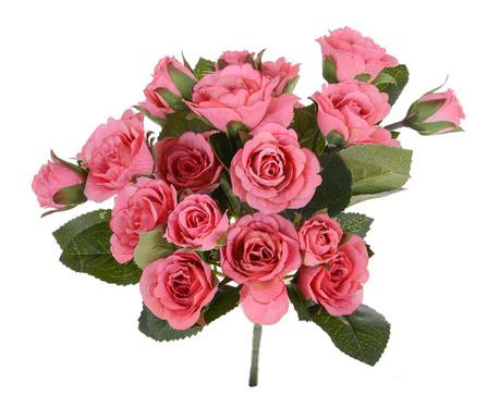 Kytice z umělých květin Roses Pink
