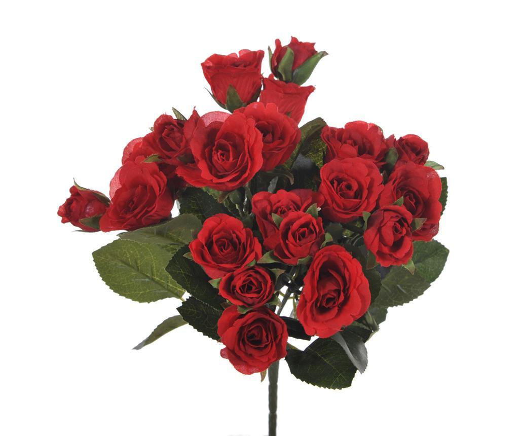 Buchet flori artificiale Roses Red