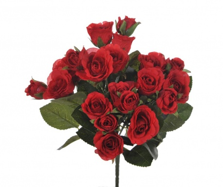 Buchet flori artificiale Roses Red