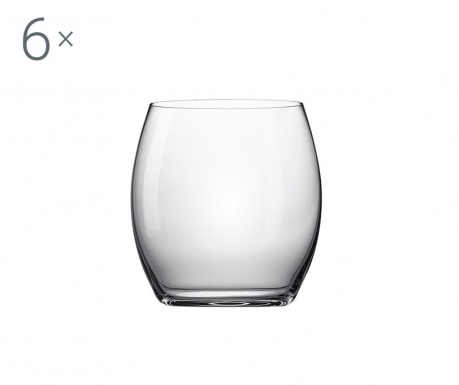 Set 6 pahare Rona Crystalite 530 ml