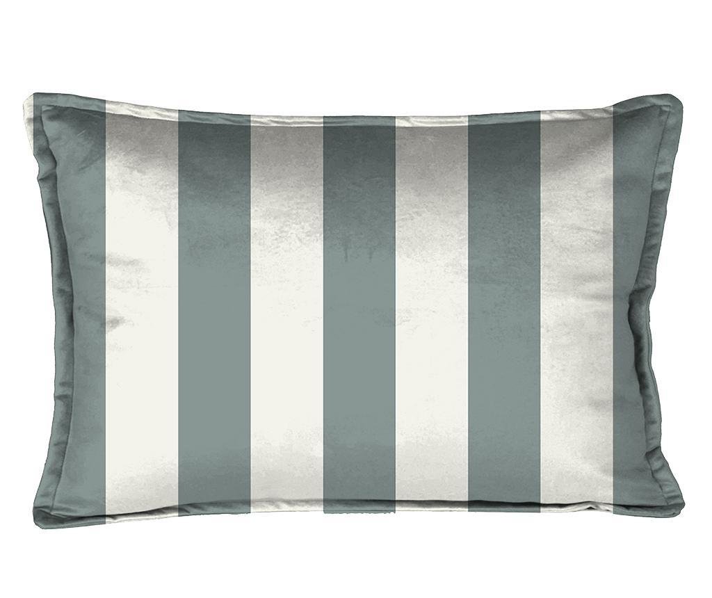 Perna decorativa Turquoise Strips 35x50 cm