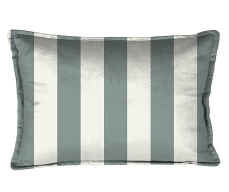 Dekorační polštář Turquoise Strips 35x50 cm
