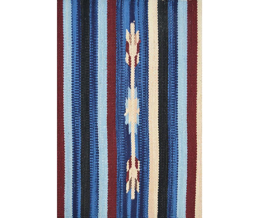 Kobereček Durrie Kansas Blue 55x90 cm