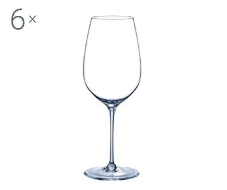Set 6 pahare pentru vin Rona Prestige Crystalite 450 ml