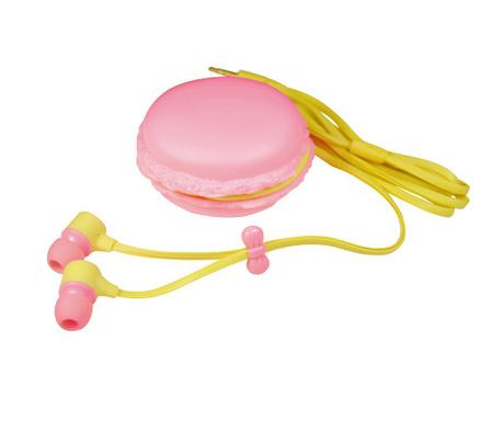 Слушалки с поставка Macaron Pink