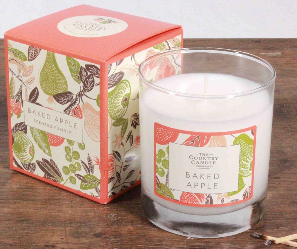 Fragrant Orchard Baked Apple Glass Illatgyertya