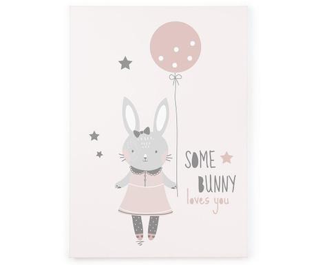 Tablou Some Bunny 50x70 cm