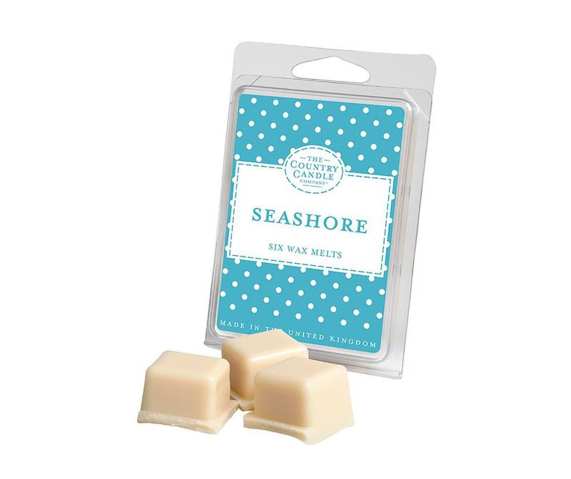Set 6 kosov dišečega voska Polka Dot Seashore