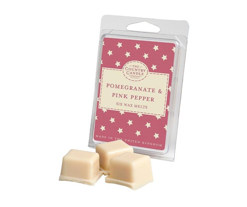 Set 6 kosov dišečega voska Superstars Pomegranate and Pink Pepper