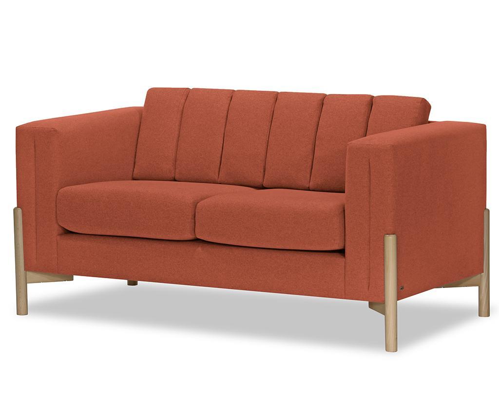 Canapea 2 locuri Haki Ontario Peach