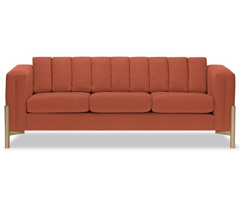 Canapea 3 locuri Haki Ontario Peach