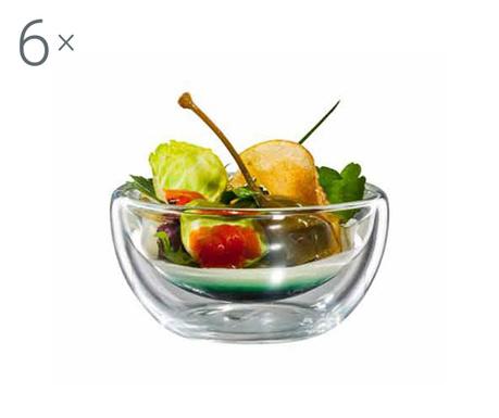 Flatbowl 6 db Előételes tálka 100 ml