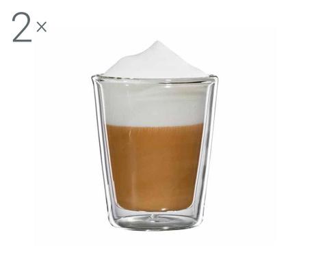 Milano Twin 2 db Cappuccino  pohár 200 ml