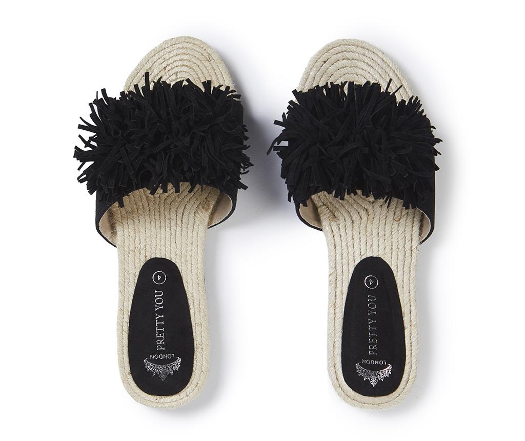 Ženski sandali Tassel Black 39