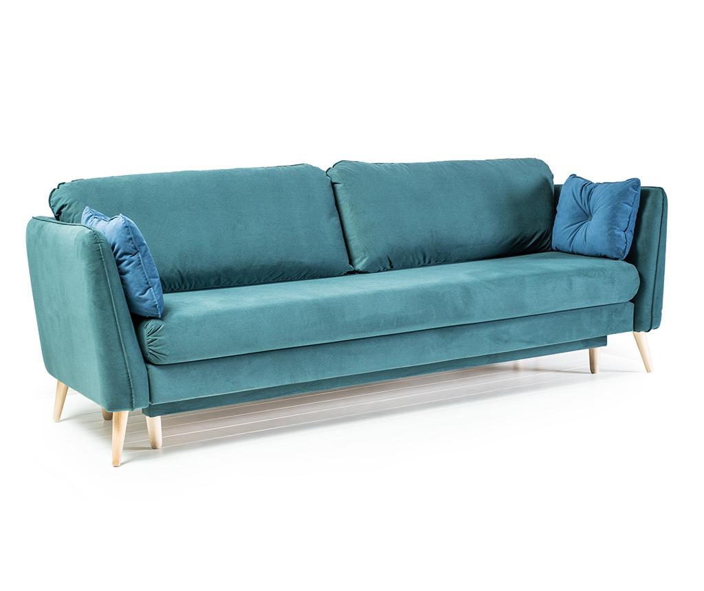 Trosjed na razvlačenje Clara Basel Green Blue