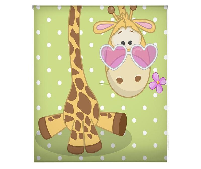 Rolo zavesa Hippie Giraffe 110x180 cm