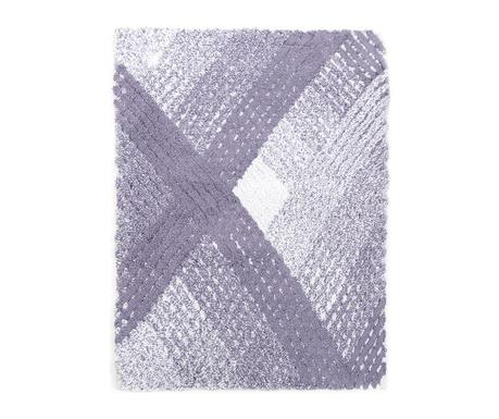 Předložka do koupelny Wall Purple 70x110 cm