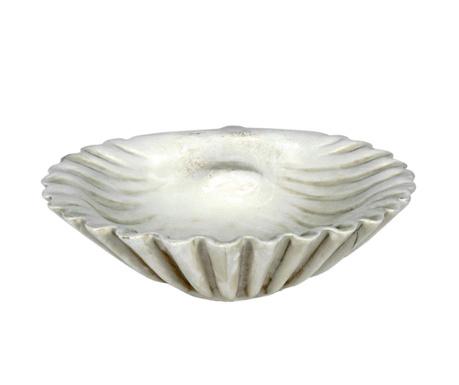 Dekorativni krožnik Scallop Cream