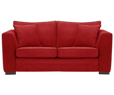 Dvoumístná pohovka Taffetas Glamour Red