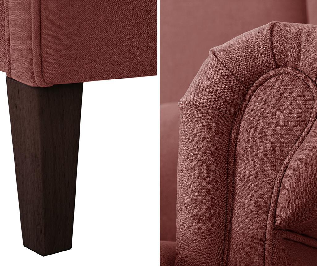 Canapea 2 locuri Alpaga Brick