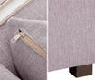 Canapea 3 locuri Organdi Lilac