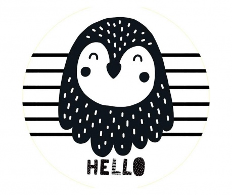 Perna decorativa Cute Penguin Dreaming 29 cm