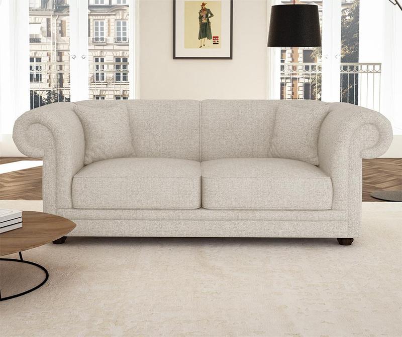 Canapea 3 locuri Aubusson Cream