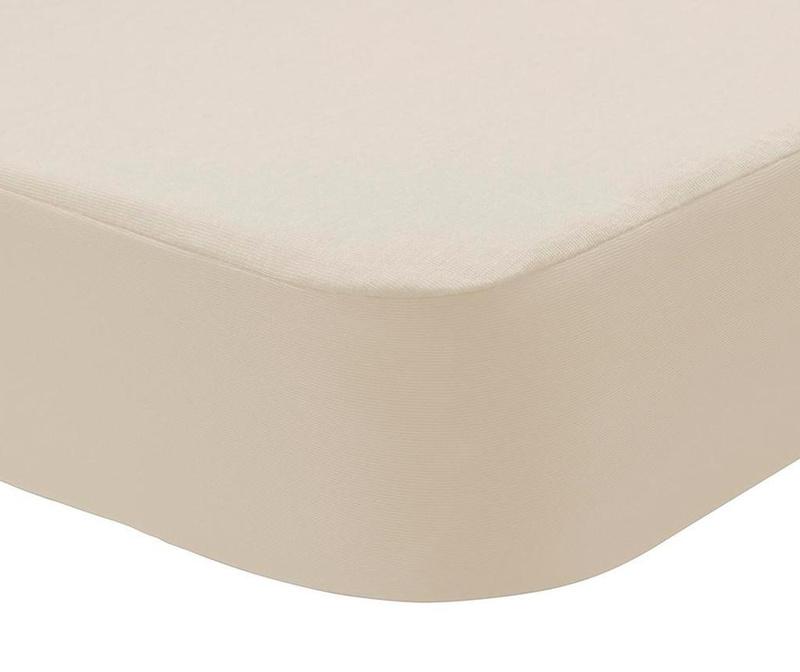 Husa impermeabila pentru saltea Randall 2 in 1 Cream 150x200 cm
