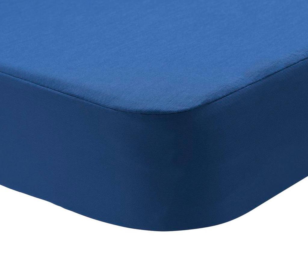 Husa impermeabila pentru saltea Randall 2 in 1 Dark Blue 120x190 cm