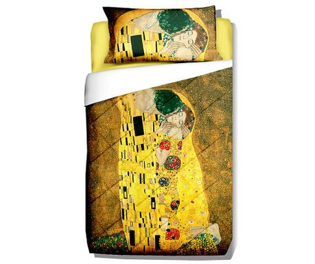 Prošívaný přehoz Klimt The Kiss 180x260 cm