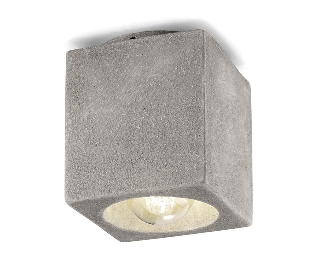 Plafoniera Vintage Cubo Cement