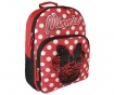 Ghiozdan Sequin Minnie Mouse Red