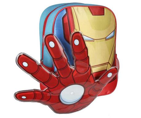 f712d749d25 Σχολική τσάντα Iron Man Power Avengers 3D - Vivre.gr