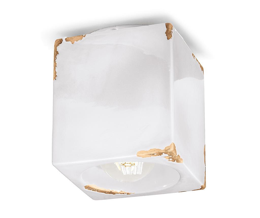 Stropna svetilka Vintage Cubo White