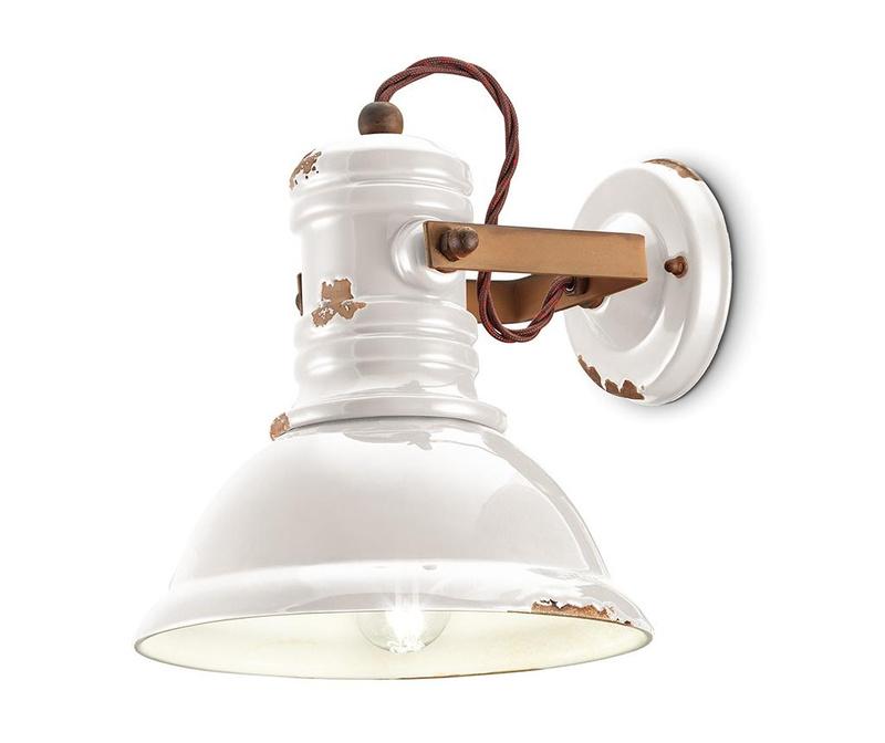 Industrial White Fali lámpa