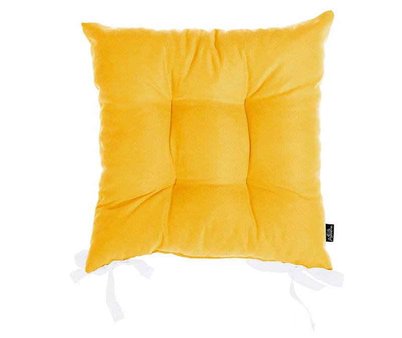 Jastuk za sjedalo Julia Yellow 37x37 cm