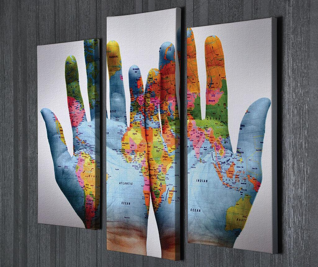 Set 3 tablouri World