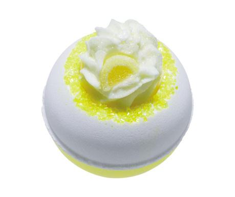 Sare de baie efervescenta Lemon Da Vida Loca 160 g