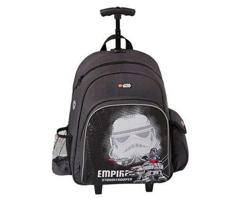 Školska torba s  kotačićima Star Wars Stromtrooper Lego 20 L