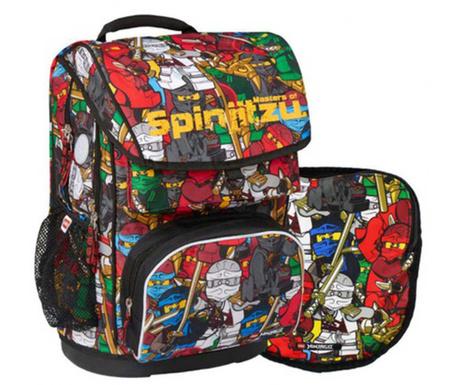 Set - nahrbtnik in športna torba Ninjago Comic Lego Maxi