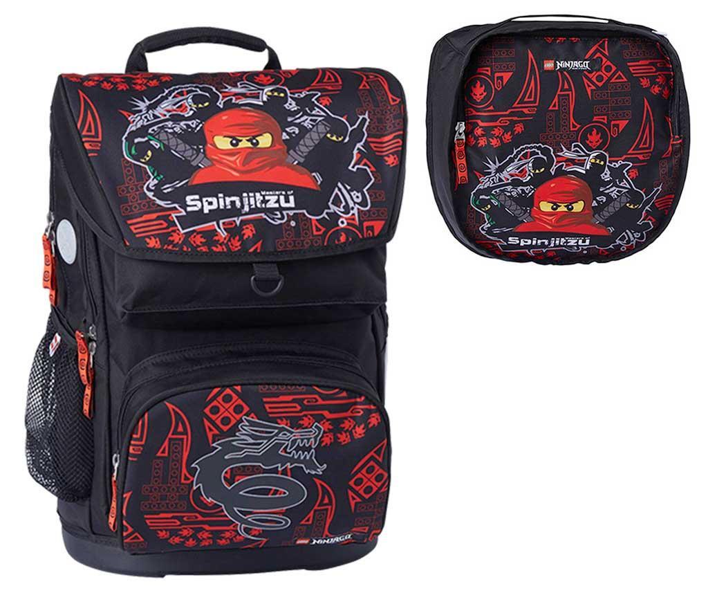 Set - nahrbtnik in športna torba Ninjago Master of Spinjitzu Lego Maxi