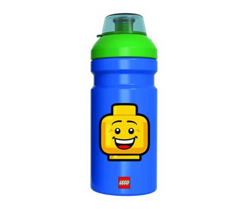 Iconic Boy Blue Lego Sportpalack 390 ml