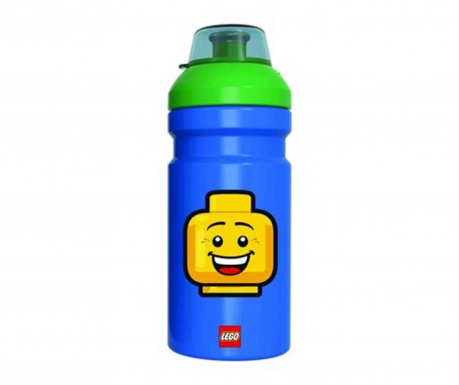 Športna plastenka Iconic Boy Blue Lego 390 ml